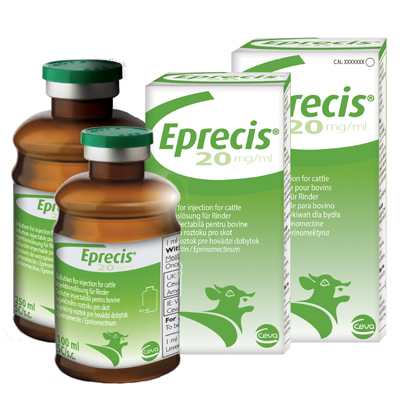 Eprecis Injection Herd Pack 600ml (Eprinomectin)