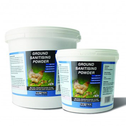 Poultry Ground Sanitising Powder