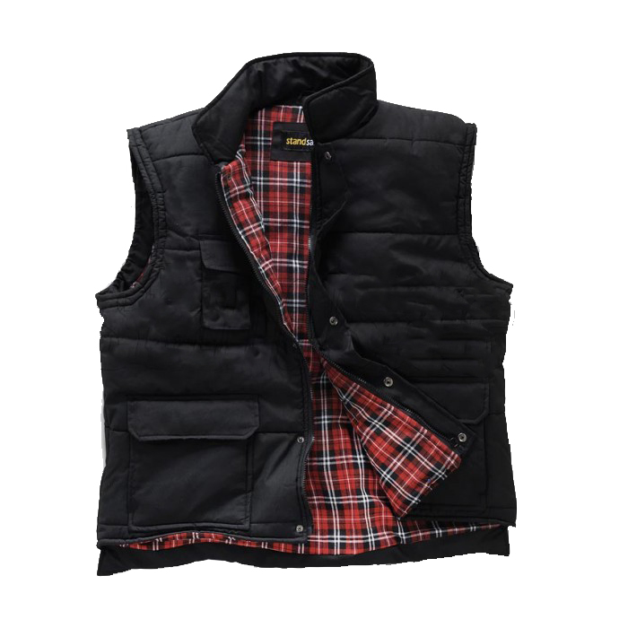 Standsafe Flannel Lined Black Body warmer
