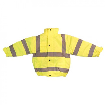 Hi Vis Junior Bomber Jacket
