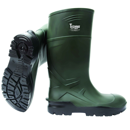 Techno Wellington Boots Soft Toe