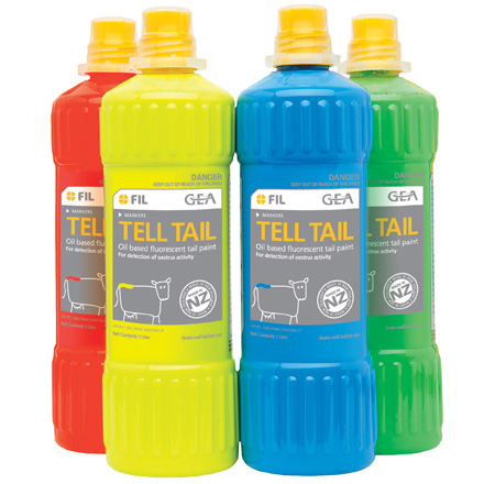 Tell Tail Brush On Tail Paint X12