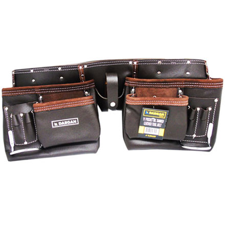 Dargan 11 Pocket Tool Belt- Oil Tanned
