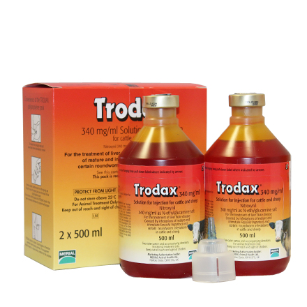 Trodax 34% Injection | agridirect ie