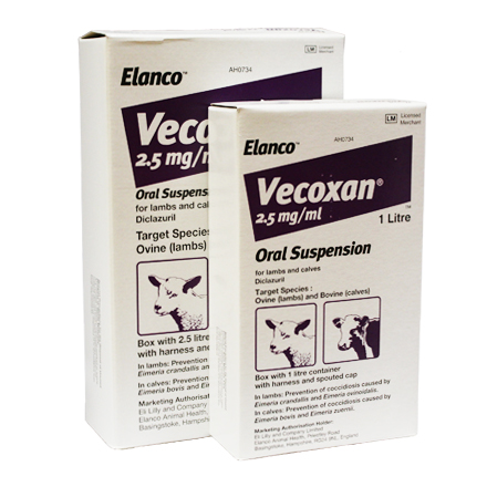 Vecoxan (diclazuril, methyl parahydroxybenzoate, propyl parahydroxybenzoate)